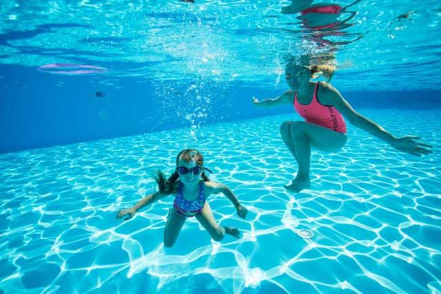 立ち泳ぎのメリット