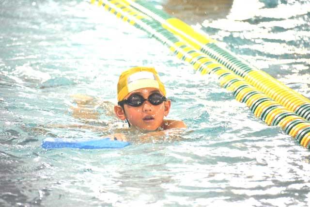 体育での水泳