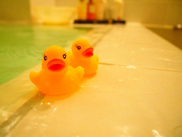お風呂とおもちゃ