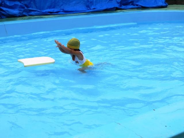 子供向け水泳練習メニューを設定して泳げるように練習しよう